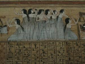 Plañideras. Egipto Antiguo. Europa, USA y afines pueden acabar así.