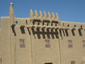 Los hermosos muros de arena
