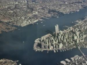 Torres Gemelas antes del 11 S. New York, U. S. A.