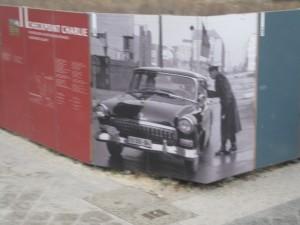 Berlín: antigua frontera del Muro.
