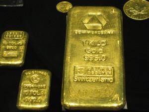 El oro al peso (aeropuerto de Dubai).