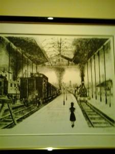 Paul Delvaux y la especial soledad de las estaciones.