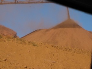 ¿Y si el hierro de Australia se cansa de ir a China?. Minas de Windawarri, Australia West.