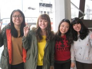 Chicas de Taipei (no están por la yihad).