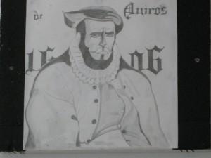 Quirós: Explorador español del Pacífico.