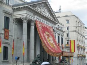 El Parlamento Español: Una galería más.