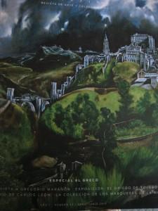 La tormenta perfecta (Toledo, de El Greco).