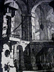 G. B. Piranesi: Cárcel Oscura.