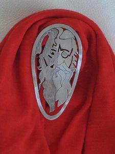 Jeans botón 10 trozo con remacha hierro Blank con emblema botones 18,5 mm #69#